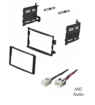 ASC Car Stereo Dash Install Kit and Wire Harness for Installing a Double Nissan Z Bose Wiring Schematic on