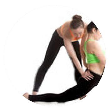 my-puzzle-design alfombrilla de ratón Yoga con el entrenador ...