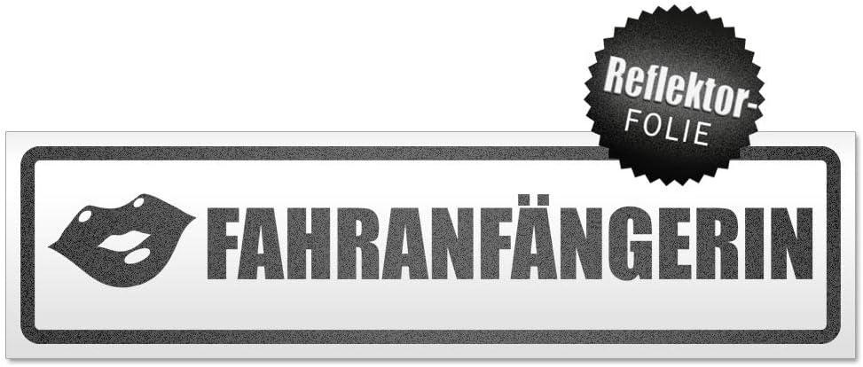 Kiwistar Fahranf/änger Kussmund Magnetschild Schild magnetisch