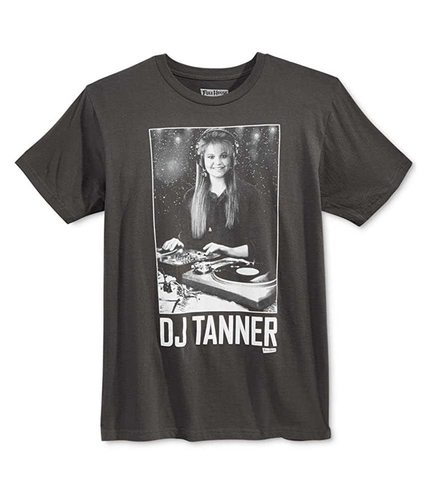 Full House Mens Solid Graphic T-Shirt