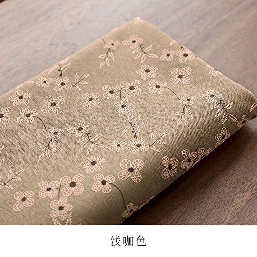 Tridimensional impresión de algodón y lino mantel tela jardín ...
