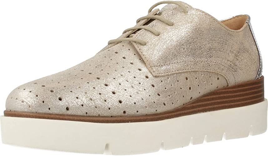 Geox Shoes D827PA 077BN C1007 41 Silver