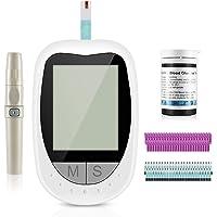 Medidor de glucosa en sangre, kit de prueba de glucosa en sangre con codefree tiras de…