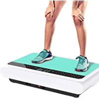 Slimming Slimming Machine Weight Loss Shake Machine chop Meat Sports Vibration Machine Fat Burning Exercise Fitness Equipment (Color : Green, Size : 53 * 33 * 12cm)