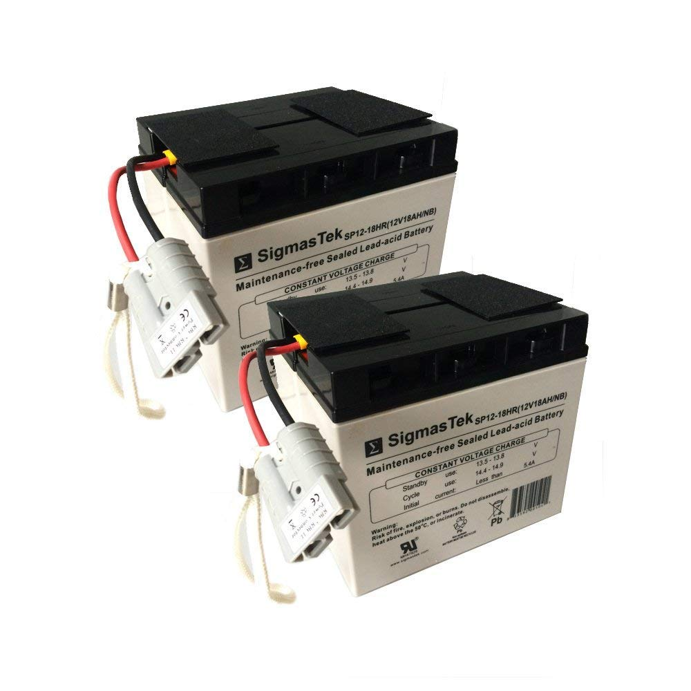APC RBC55 Replacement Battery Cartridge by SigmasTek