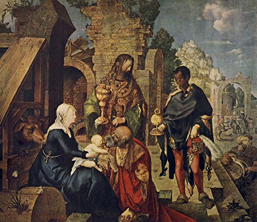 - Posterazzi World's Greatest Paintings 1934 Adoration of The Magi Poster Print by Albrecht D RER, (24 x 36)