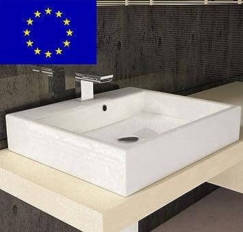 Design Waschbecken Gaste Wc 50cm Zur Wandmontage Oder Als Aufsatz