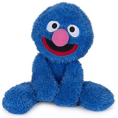 GUND Sesame Street Fuzzy Buddy Grover Plush Stuffed Animal, Blue: Toys & Games
