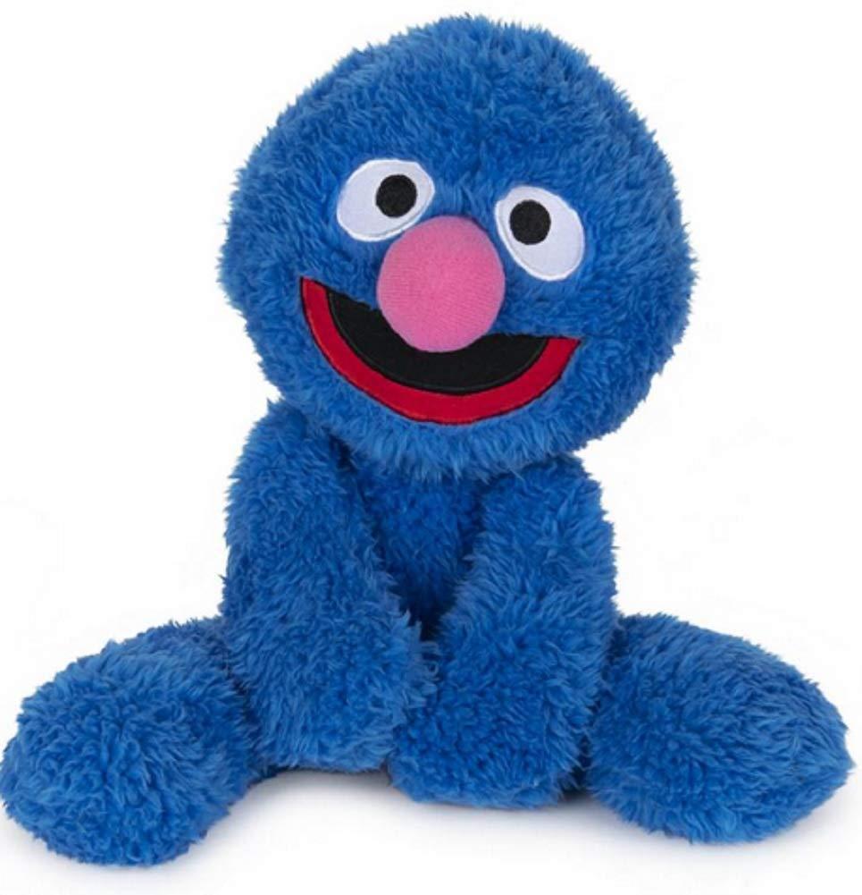 GUND Sesame Street Fuzzy Buddy Grover Plush Stuffed Animal, Blue