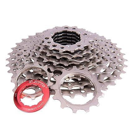 Amazon com : Lykke   11-36T Bike Cassette 9 Speed Cassette Bike