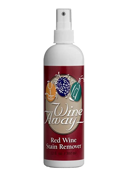 Wine Away - Quitamanchas en recipiente de plástico (360 ml)