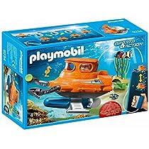 Playmobil Submarino con Motor,, única (9234)