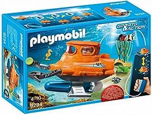 Playmobil Submarino con Motor, única 9234