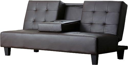 Abbyson Bedford Convertible Sofa