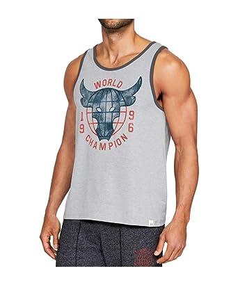 a2dba332cd8950 Under Armour Men s UA x Project Rock World Champ Sleeveless Tank Top Shirt  (Large)