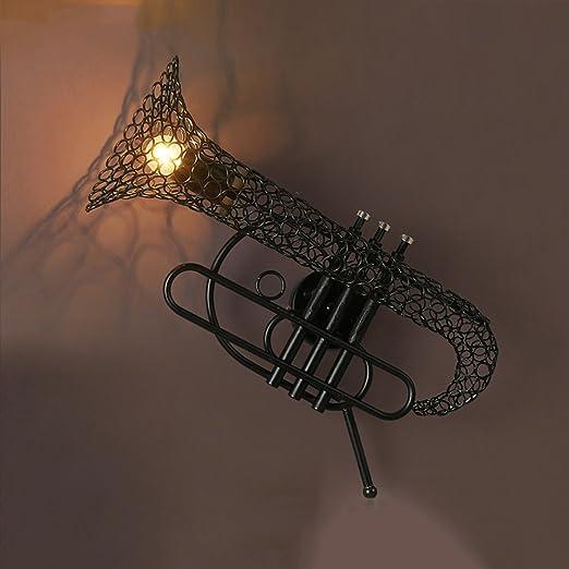 HJZY E27 Lámpara de Pared de la Vendimia Aplique de Pared rústico ...