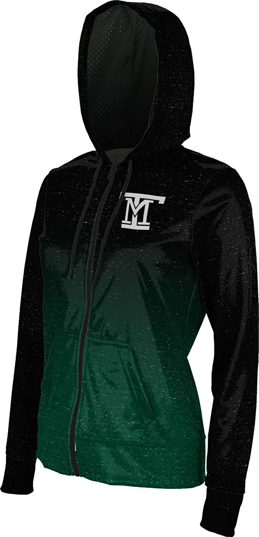 Ombre ProSphere Montana Tech of The University of Montana Girls Zipper Hoodie School Spirit Sweatshirt