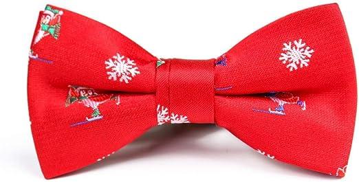 Keliour-tie Corbatas de Lazo para Hombre Color de la Nieve A Juego ...