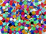 School Smart Mosaic Squares - 3/8 inch - Pack of 10000 - Assorted Colors