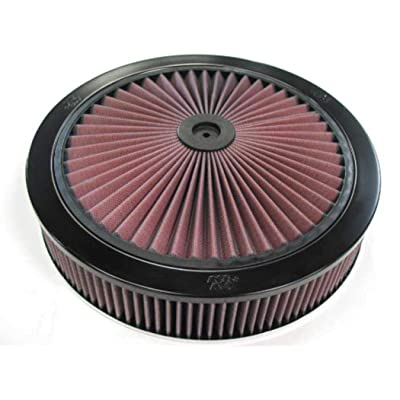 K&N X-Stream Top Air Filter: High Performance, Premium, Washable, Replacement Engine Filter: Shape: Round, 66-3040: Automotive