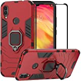 BestAlice for Xiaomi Redmi Note 7 / Redmi Note 7 Pro Case, Hybrid Heavy Duty Protection Shockproof Defender Kickstand Armor C