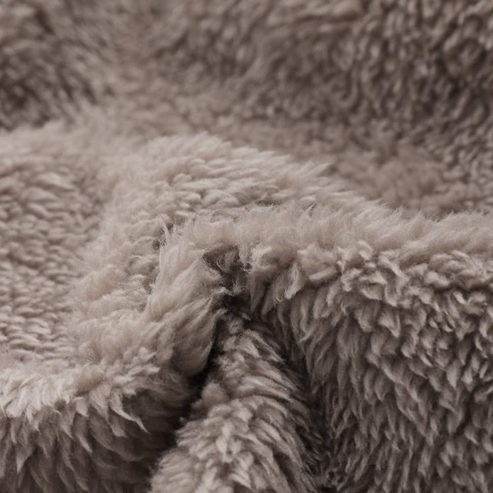 Veste Kimono Gilet Blazer Manteau Hiver Femme Winter Warm Outwear Pochettes à Capuchon à imprimé Floral Vert-10