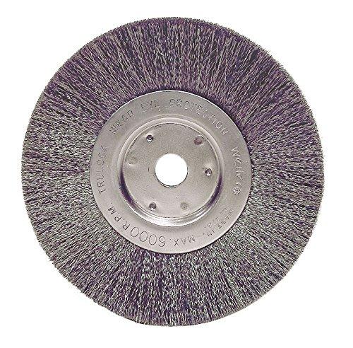 Narrow Face Wheel - Weiler 1705 Narrow Face Crimped Wire Wheel, 6