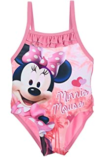 Disnéy Minnie Mouse Printed One Piece Bathing Suit