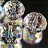 Bingcute Wholesale Crystal Rondelle Light AB Beads Gemstone Loose Beads Choice 4mm 6mm 8mm 10mm 12mm