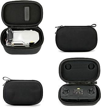 ZUJI 2Pcs Mavic Mini Funda, Bolsa Transporte Estuche Protector Portátil para dji Mavic Mini Drone y Control Remoto - Negro: Amazon.es: Juguetes y juegos