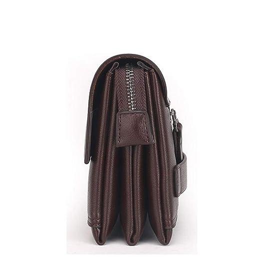 Amazon.com: Wallet Men Clutch Bag Leather Purse carteras mujer Mens Handy Bags Purse Man Monederos Wallets: Shoes