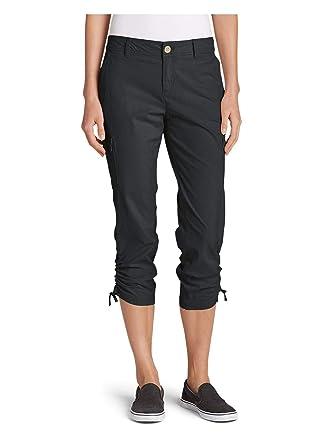 f42a50b612 Eddie Bauer Women's Adventurer Stretch Ripstop Crop Cargo Pants - Slightly  Curvy at Amazon Women's Clothing store: