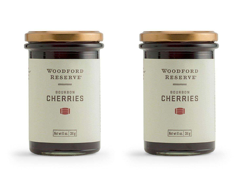 BOURBON BARREL FOODS WOODFORD RESERVE BOURBON CHERRIES WRCC (Pack of 2)