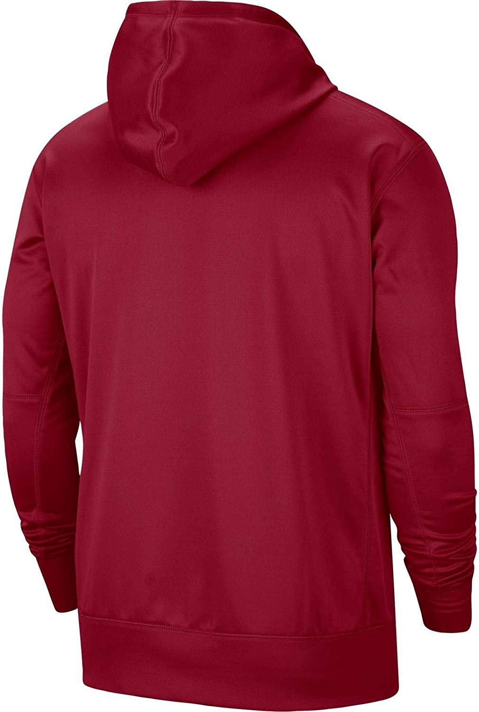 Nike Mens Alabama Crimson Tide Logo Performance Fleece Hoodie
