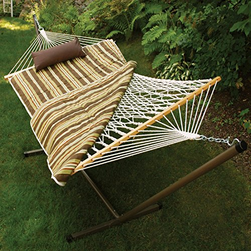 Algoma Net Company 8911E Hammock Set, Brown