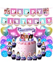 49 Girl Game Party Decorations Sandbox Game Party Supplies, Birthday Decorations, Cake Topper, Cupcake Toppers, Balloons and Banners Set