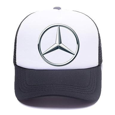 Mer Ben Car Logo 43A818 Trucker Hat Baseball Caps Gorras de béisbol for Men Women Boy Girl Black: Amazon.es: Ropa y accesorios