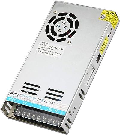 NiuGuy 60W AC 110V-220V to DC Converter 12v 5a CCTV Switching ...