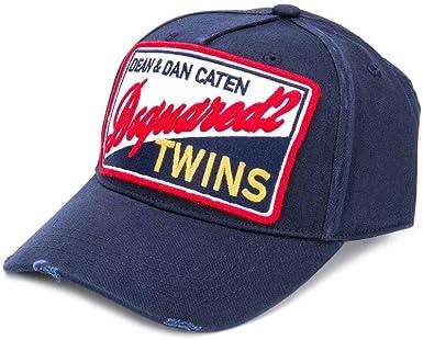 DSquared - Gorra de béisbol - para Hombre Azul Azul Marino Taille ...