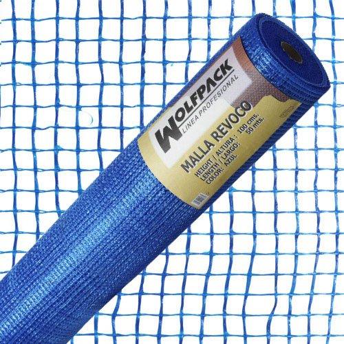 Wolfpack 1202100 Malla Revoco Azul Rollo 50 cm. x 1 metro. Luces 10x10 mm. Papillon