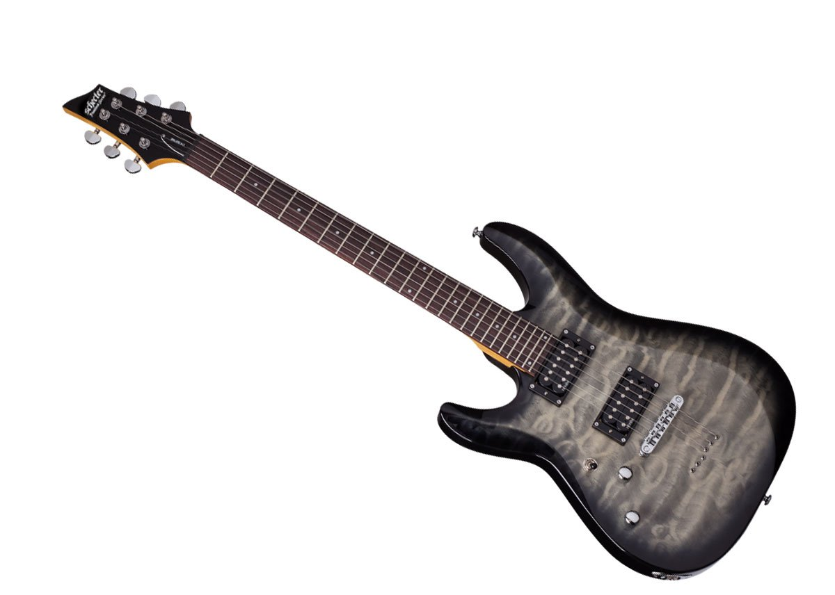 Schecter 6 String Solid-Body Electric Guitar, Full (448) by Schecter