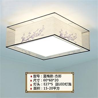 Gunxifacai Lámpara de techo chino románticas habitaciones ...