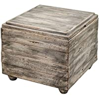 Uttermost 25603 Avner Wooden Cube Table