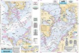 Inshore Tampa Bay, FL - Laminated Nautical Navigation & Fishing Chart by Captain Segull's Nautical Sportfishing Charts | Chart # TMB135