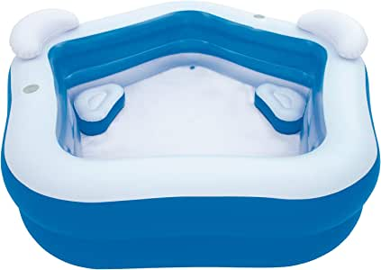 Bestway 54153 - Piscina Hinchable Infantil Family Fun 213x207x69 cm: Amazon.es: Jardín
