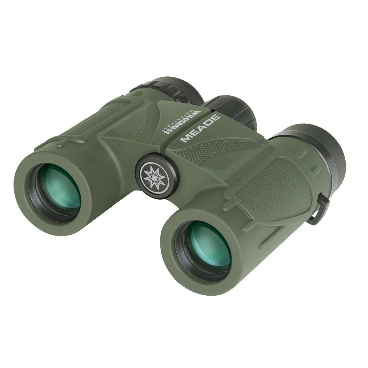 Meade Instruments 125020 Wilderness Binoculars – 8×25 Green