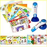 XHAIZ Kids Educational Learning Toy Smile Talking Pen with 7 English Books