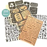 #7: 233 Piece! Inspirational, Faith, Family, Love & Devotional Sticker kit | Perfect for Family & Faith Journaling & Scrapbooks