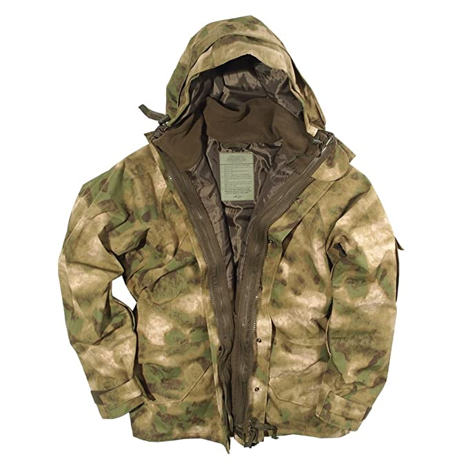 7dd51152c75 Mil-Tec ECWCS Jacket with Fleece MIL-TACS FG  Amazon.co.uk  Clothing