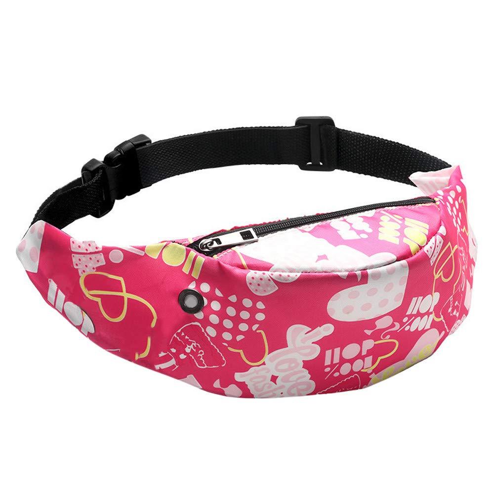 Colorful Waist bag Waterproof Travel Fanny Pack Mobile Phone Waist Pack Belt Bag